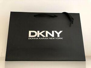 DKNY Paper Carrier/Gift Bag Black - 23 x 35 x 10cm
