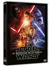 STAR WARS EL DESPERTAR DE LA FUERZA DVD NUEVO ( SIN ABRIR )