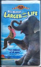 LARGER THAN LIFE - Bill Murray - VHS Movie 1996 Clamshell Case