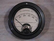 Vintage Western Electrical Instruments Corp. Milliamperes D.C. gauge