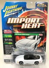 JOHNNY LIGHTNING 1:64 MIJO IMPORT HEAT 1990 NISSAN 240SX CUSTOM JLCP7128 WHITE