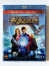 Disney Magic Action Film The Sorcerer's Apprentice on Blu-ray DVD & Digital Copy