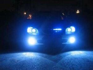 4x For 2006-2007 Subaru Hawkeye WRX Projector LED Headlight Lamp Bulbs Ice Blue