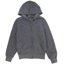 Coney Island Boy's Charcoal Basic Fleece Hoodie size 4