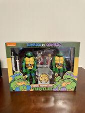 NECA Teenage Mutant Ninja Turtles Leonardo and Donatello Target 2 Pack Sealed
