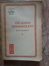 M.M. BOIARDO - ORLANDO INNAMORATO II - UTET - 1945