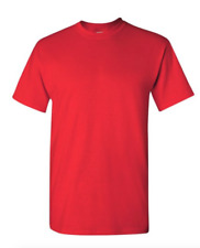 Gildan Cotton T-Shirts 5.3oz Blank Solid Short Sleeve Tee S-2XL ,,Style# 5000