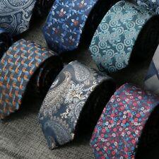 7CM Ties For Men Floral Necktie paisley gravata corbatas Formal Mens Neck Ties