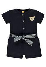 18 - Steiff blu marino Kids corto- Overall, bianco-blu scuro tgl 110