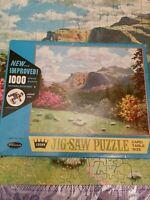 "Whitman  Crown Vintage 1000 pc Puzzle Series 715 ""World of Wonder"""