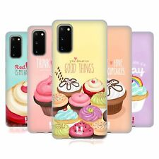 HEAD CASE DESIGNS CUPCAKE HAPPINESS GEL CASE FOR SAMSUNG PHONES 1