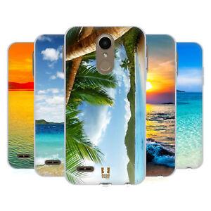HEAD CASE DESIGNS BEAUTIFUL BEACHES SOFT GEL CASE & WALLPAPER FOR LG PHONES 1