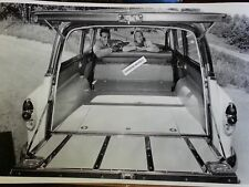 "1953 Chevrolet Station Wagon Rear shot 12 By 18"" Black & White Picture"