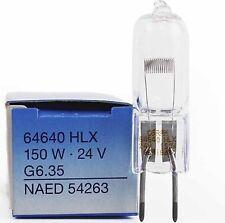 10 Pcs Osram 64640 HLX 24V150W G6.35 Surgical Shadowless Lamp Halogen Bulb