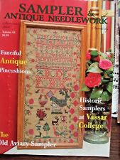 Sampler & Antique Needlework Quarterly Summer 2006 Volume 43 Charts & Info NEW