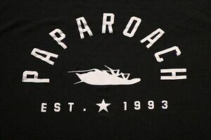 Papa Roach Tour Concert T-Shirt Established 1993 Shirt