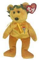 TY Beanie Baby Victory The Olympic Bear Plush