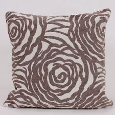 Harry Corry Nirvana Floral Grey Cushion 45cm X45cm Square Cushion With Inner Pad