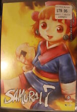 SAMURAI 7  VOLUME 4 OOP RARE DELETED REGION 4 PAL DVD MOVIE THE BATTLE FOR KANNA
