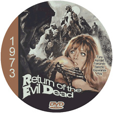 Return of the Evil Dead (1973) Classic Sci-fi and Horror 'B' Movie DVD NR