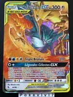 Carte Pokemon SULFURA, ELECTHOR ET ARTIKODIN 44/68 GX SL11,5 FR NEUF