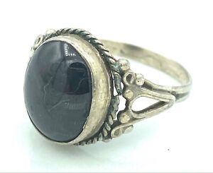 Silver Ring - 3,76 G - 925 - Onyx