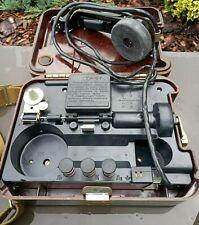 TA-57 original vintage USSR Russia military field telephone