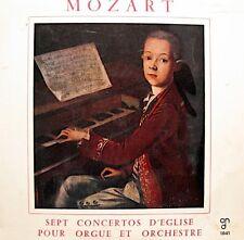 ++MARIE-CLAIRE ALAIN/PAUL KUENTZ sept sonates d'eglise MOZART LP 25cm CND VG++