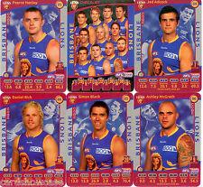 2012 AFL Teamcoach Silver Team set Brisbane (12)
