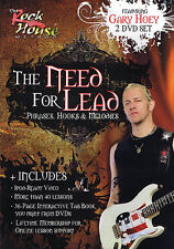 Gary Hoey The Need For Lead Guitar 2 Dvd Set New