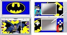 Nintendo DS Lite-Batman Cartoon - 4 pièces Autocollant Decal / peau
