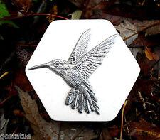 Hummingbird mold plaster concrete soap resin  wax accent plastic mould