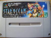 Super Famicom Star Ocean Japan SFC S