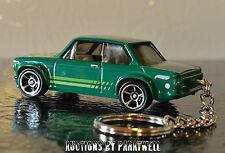 Green Custom '70 '71 '72 '73 BMW 2002 Keychain Key Ring FOB Porte cles Llavero