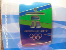 LOT of 15 PINS - Vancouver 2010 Olympic Logo - Color Stone-look Pin