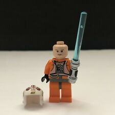 Lego Star Wars X-Wing Pilot Luke Skywalker Figure Lightsaber 8129 9493 sw0295