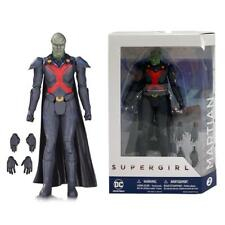 "DC COLLECTIBLES MARTIAN MANHUNTER SUPERGIRL 7"" ACTION FIGURE"