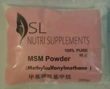 MSM Powder - 100% Pure (200g) Joint & Muscle Pain Relief