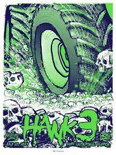 HANK 3 III FLORIDA  2014 SILKSCREEN GIG POSTER S/N ED