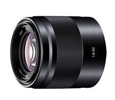Sony E 50mm F1.8 OSS Lens Black 50 F/1.8 SEL50F18/BK for E-Mount NEX ILCE
