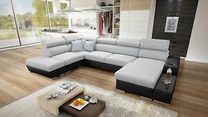 Brand New corner sofa bed with storage Perseo VI