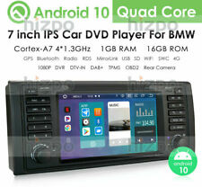 """For BMW E53 X5 1999-2006 7"""" Android 10 Car DVD GPS Radio Wifi Stereo Head Unit"""