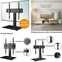 "BONTEC Universal Table Top Pedestal TV Stand with Bracket for 26""-55"" LCD/LE"