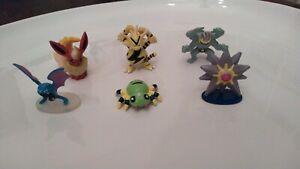 Pokemon Figures  Lot of 6                                  Group 5