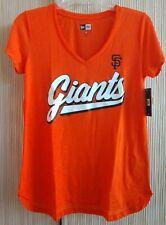 San Francisco SF Giants Women's New Era Orange T- Shirt NWT - Size S
