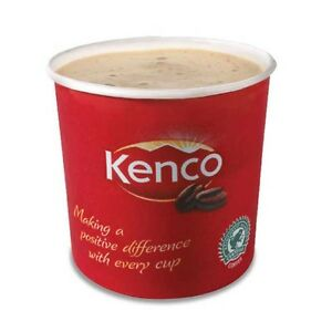 Kenco White Coffee - 76mm paper in-cup vending machine drinks