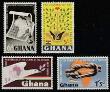 Ghana postfris 1964 MNH 177-180 - Signing of the African Unity Charter