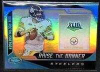 Ben Roethlisberger 2019 Certified Raise The Banner Steelers #/35 SSP