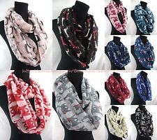 US SELLER-lot of 10cats dogs pets animals lover infinity scarf circle loop  scarf 5aada9326615