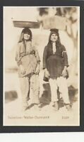 Postcard Palestine Middle East two girls Water Carriers RP
